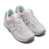 new balance WL574SOT LIGHT GRAY/PINK画像