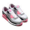 NIKE AIR MAX 90 WHITE/PARTICLE GREY-ROSE-BLACK CD0881-101画像
