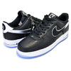 NIKE AIR FORCE 1 07 COLIN KAEPERNICK QS black/black-white CQ0493-001画像