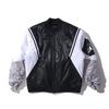 NIKE AS M J WINGS MA-1 BOMBER JKT BLACK/ATMOSPHERE GREY/WHITE/WHITE CD5458-010画像