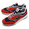 new balance CM997HBJ RED/NAVY画像