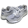 new balance M992GR GREY/WHITE画像