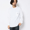 MANASTASH LOGO PATCH POCKET LS TEE 7103069画像