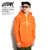 LEFLAH DAMAGE PARKA -ORANGE-画像