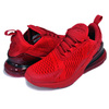 NIKE AIR MAX 270 (GS) university red/university red CW6987-600画像