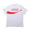 COCA-COLA × Columbia × ATMOS LAB CSC BASIC LOGO TXT SHORT SLEEVE T-SHIRT WHITE, INTENSE RED PM0140-100画像