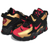 NIKE AIR BARRAGE MID 49ERS metallic gold/university red CT1573-700画像