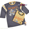 "TOYS McCOY MILITARY FOOTBALL SHIRT ""GO NAVY! BEAT ARMY!"" TMC2036画像"
