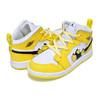 NIKE JORDAN 1 MID SE (TD) dynamic yellow/black-white AV5172-700画像