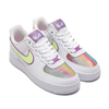 NIKE WMNS AIR FORCE 1 EAS WHITE/BARELY VOLT-HYPER BLUE CW0367-100画像