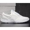 SUPRA HAMMER RUN S55042 / WHT White microfibre and checkered mesh.White sole.画像