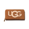 UGG W HONEY ZIP ARND WALLET SHEEP CHESTNUT 1093571-CHE画像