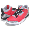 NIKE AIR JORDAN 3 RETRO SE UNITE fire red/fire red-cement grey CK5692-600画像