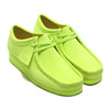 Clarks Wallabee Lime Suede 26148597画像