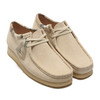 Clarks Wallabee Off White Int 26150490画像