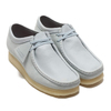 Clarks Wallabee Light Blue Combi 26148595画像