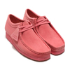 Clarks Wallabee Bright Pink Sde 26147300画像