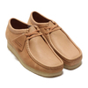 Clarks Wallabee Light Tan Combi 26148596画像
