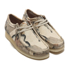 Clarks Wallabee Off White Camo 26148590画像