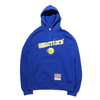 Mitchell & Ness Old English Hoody - GS.Warriors BLUE FPHDEF18019-GSW画像
