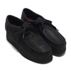 Clarks Wallacraft Lo Black Nubuck 26148632画像