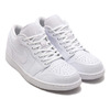 JORDAN BRAND AIR JORDAN 1 LOW WHITE/WHITE-WHITE 553558-130画像