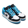JORDAN BRAND AIR JORDAN 1 LOW SE (GS) BLACK/BLACK-LASER BLUE-WHITE CT1564-004画像