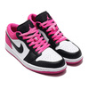 JORDAN BRAND AIR JORDAN 1 LOW SE BLACK/BLACK-ACTIVE FUCHSIA-WHITE CK3022-005画像