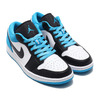 JORDAN BRAND AIR JORDAN 1 LOW SE BLACK/BLACK-LASER BLUE-WHITE CK3022-004画像