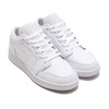 JORDAN BRAND AIR JORDAN 1 LOW (GS) WHITE/WHITE-WHITE 553560-130画像