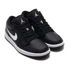 JORDAN BRAND WMNS AIR JORDAN 1 LOW BLACK/WHITE-WHITE AO9944-001画像
