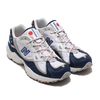 new balance ML703BE WHITE/NAVY画像