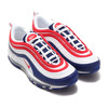 NIKE AIR MAX 97 WHITE/UNIVERSITY RED-DEEP ROYAL CW5584-100画像