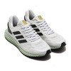 adidas 4D 1.0 FOOTWEAR WHITE/CORE BLACK/GOLD METARIC EG6264画像