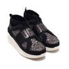 UGG Neutra Chunky Glitter Sneaker Black Glitter 1114870-BGTT画像
