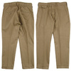 FULLCOUNT DOBBY SLAB TWILL TAPERED TROUSERS 1334画像