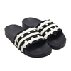 adidas ADILETTE W CORE BLACK/FOOTWEAR WHITE/CORE BLACK EF5591画像