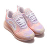NIKE W NIKE AIR MAX 720 PRNT LIGHT VIOLET/GUAVA ICE-CRIMSON TINT CW2537-500画像