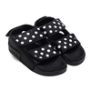 adidas ADILETTE SANDAL 3.0 W CORE BLACK/OFF WHITE/CORE BLACK EF5641画像
