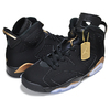 NIKE AIR JORDAN 6 RETRO DMP black/metallic gold-black CT4954-007画像