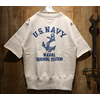 "FREEWHEELERS SET-IN CUT-OFF SLEEVE SWEAT SHIRT ""NAVAL TRAINING STATION"" 2024002画像"