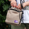 THE NORTH FACE PURPLE LABEL Mesh Bucket Shoulder Bag BE(BEIGE) NN7014N画像