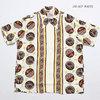 """Duke Kahanamoku SPECIAL EDITTION S/S RAYON HAWAIIAN SHIRT """"DUKE'S PALM TREE"""" DK38334画像"""