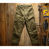 "FREEWHEELERS UNION SPECIAL OVERALLS ""DECK WORKER TROUSERS"" Vintage Sulfide Dyed Military Back Satin 2022009画像"