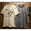 "TOYS McCOY MILITARY TEE ""14TH AF FLYING TIGERS"" TMC2029画像"
