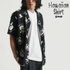 Schott HAWAIIAN SHIRT SKULL 3105039画像