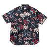 APPLEBUM Island Flower S/S Shirt BLACK画像