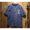 Cushman DENIM STRIPE BASEBALL SHIRT 25290画像