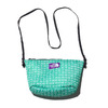 THE NORTH FACE PURPLE LABEL LOGO PRINT MESH POUCH M KELLY GREEN NN7923N-KG画像
