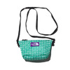 THE NORTH FACE PURPLE LABEL LOGO PRINT MESH POUCH S KELLY GREEN NN7924N-KG画像